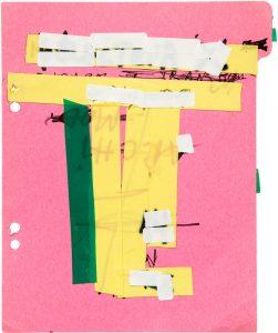 Illés Sarkantyu, Memorandum, 2000, courtesy Illés Sarkantyu, Galerie Binome grande chambre Polaroid 50x60cm - encadrement 100x75 cm