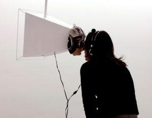 Lisa Sartorio, La Visionneuse, 2009, courtesy Galerie Binome