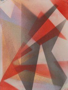 Mustapha Azeroual, sans titre #07, série ACTIN, 2019, courtesy Galerie Binome