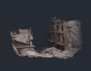 Thibault Brunet, série Boîte noire,  tapisserie #1, 2020, courtesy Galerie Binome - édition de 3 (+2EA) - tapisserie, point d'Aubusson numérique, fils de laine