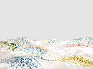 Michel Le Belhomme, sans titre #54, série Les deux Labyrinthes, 2015, courtesy Galerie Binome