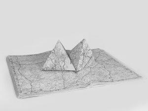 Michel Le Belhomme, sans titre #7, série Les deux labyrinthes 2014-17, courtesy Galerie Binome