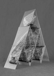 Michel Le Belhomme, #109, After Fischli and Weiss, série Les deux Labyrinthes, 2016